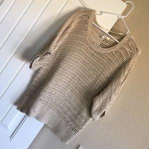 Lauren Conrad Open Knit Sweater